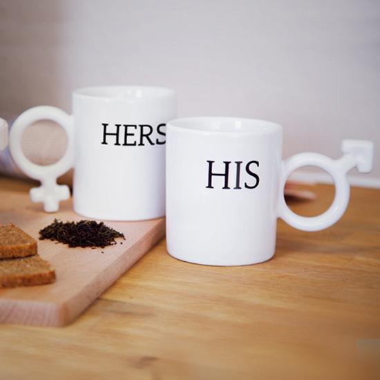 Thumbs Up(サムズアップ)のHis & Her Mugs-WHITE(キッチン/kitchen)-HISHERSMUG-4 詳細画像6