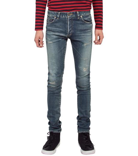 HL HEDDIE LOVU(エイチエル・エディールーヴ)のHL skinDamage-BLUE(パンツ/pants)-HL-skinDamag-92 詳細画像1