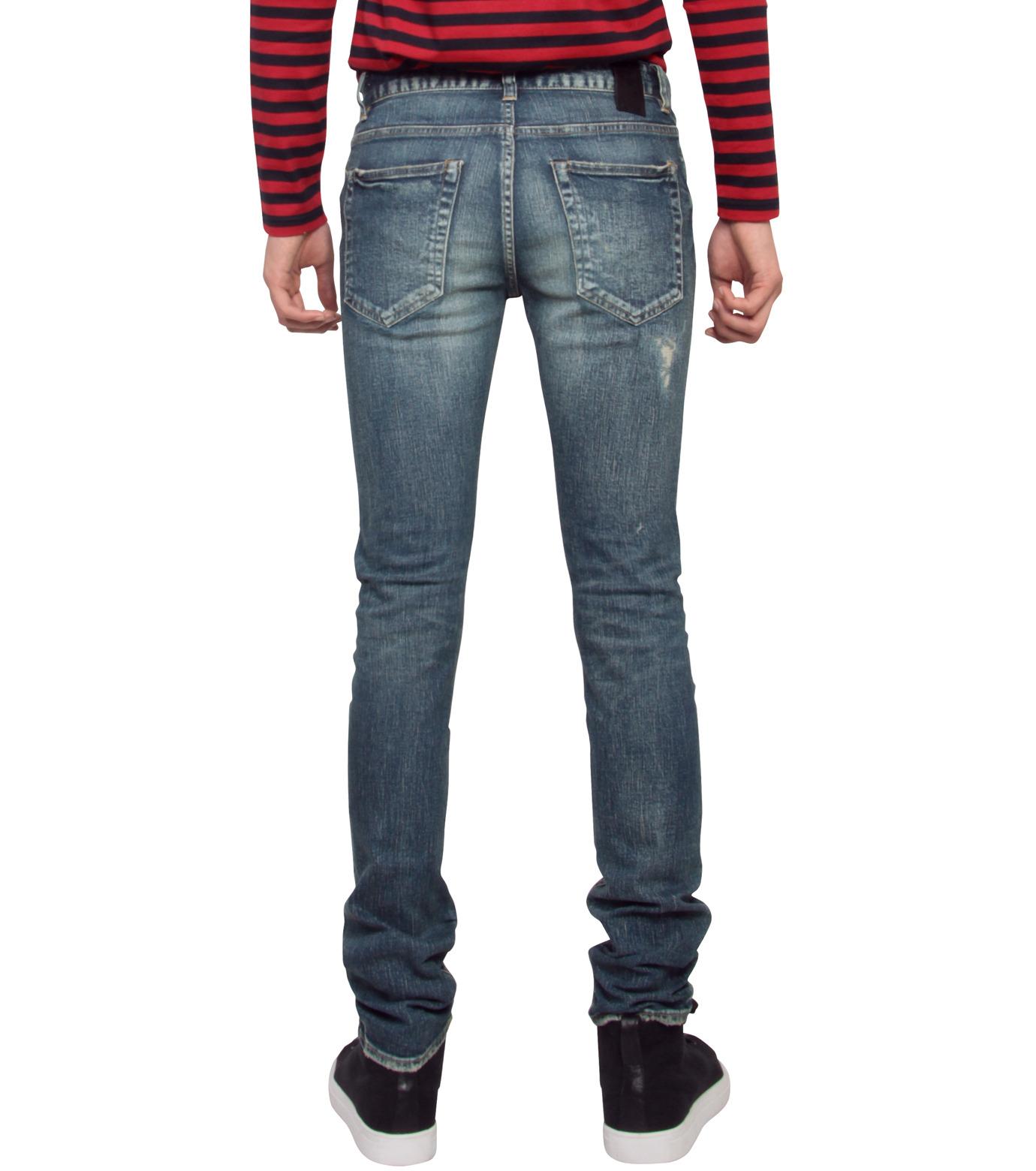 HL HEDDIE LOVU(エイチエル・エディールーヴ)のHL skinDamage-BLUE(パンツ/pants)-HL-skinDamag-92 拡大詳細画像2