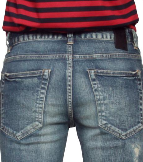 HL HEDDIE LOVU(エイチエル・エディールーヴ)のHL skinDamage-BLUE(パンツ/pants)-HL-skinDamag-92 詳細画像5