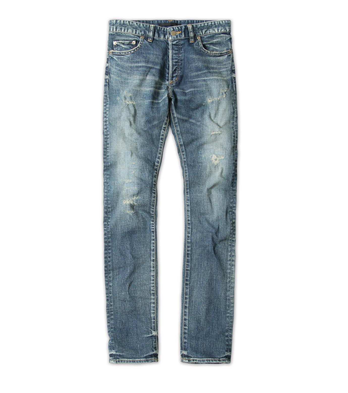 HL HEDDIE LOVU(エイチエル・エディールーヴ)のHL skinDamage-BLUE(パンツ/pants)-HL-skinDamag-92 拡大詳細画像6
