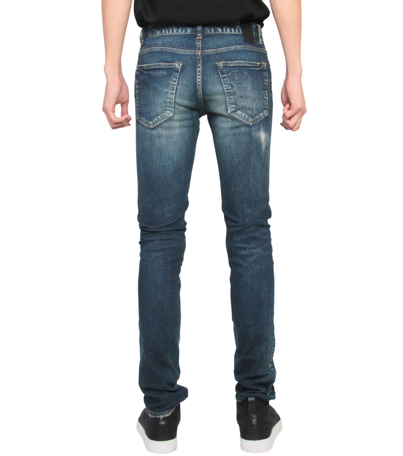 HL HEDDIE LOVU(エイチエル・エディールーヴ)のHL skinDamage-INDIGO(パンツ/pants)-HL-skinDamag-94 拡大詳細画像2