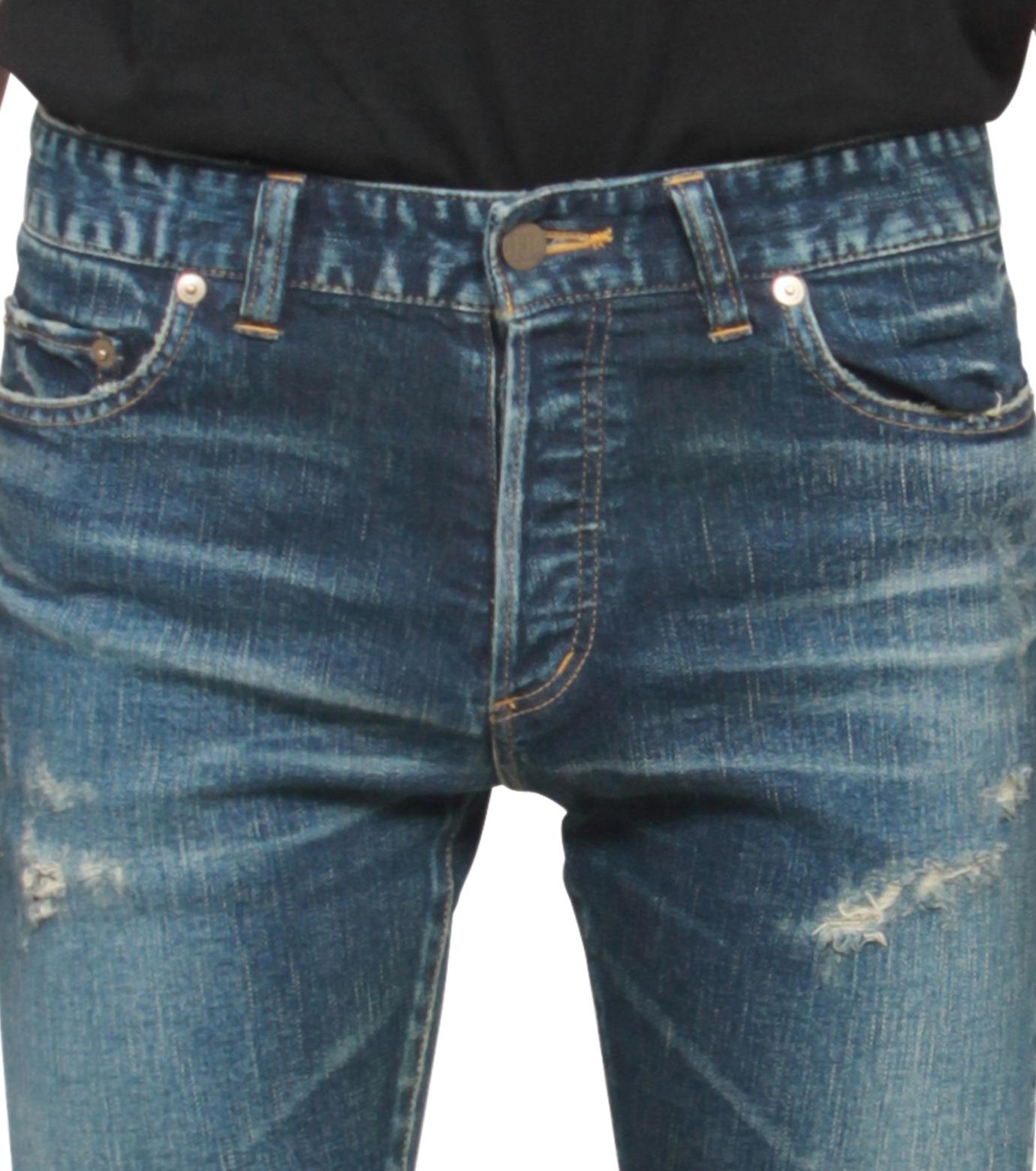 HL HEDDIE LOVU(エイチエル・エディールーヴ)のHL skinDamage-INDIGO(パンツ/pants)-HL-skinDamag-94 拡大詳細画像4