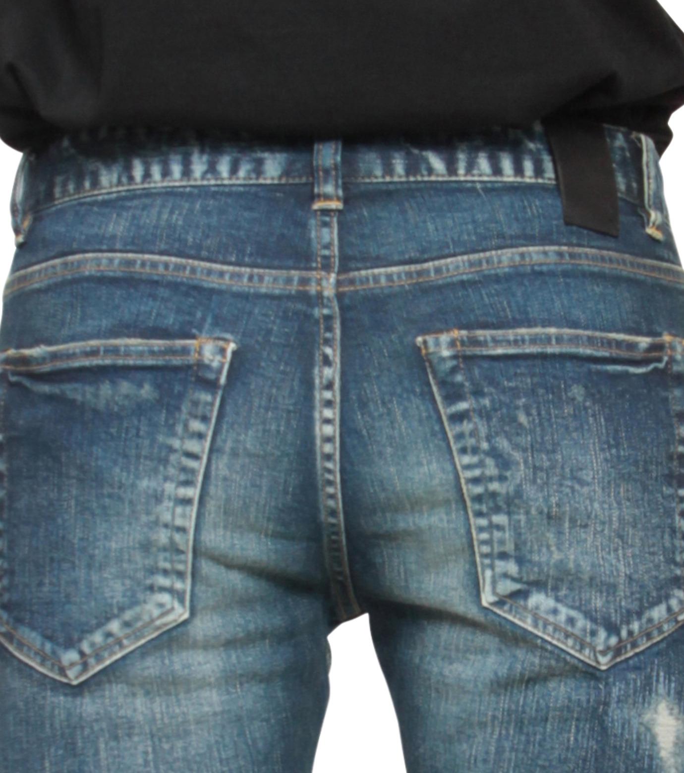 HL HEDDIE LOVU(エイチエル・エディールーヴ)のHL skinDamage-INDIGO(パンツ/pants)-HL-skinDamag-94 拡大詳細画像5