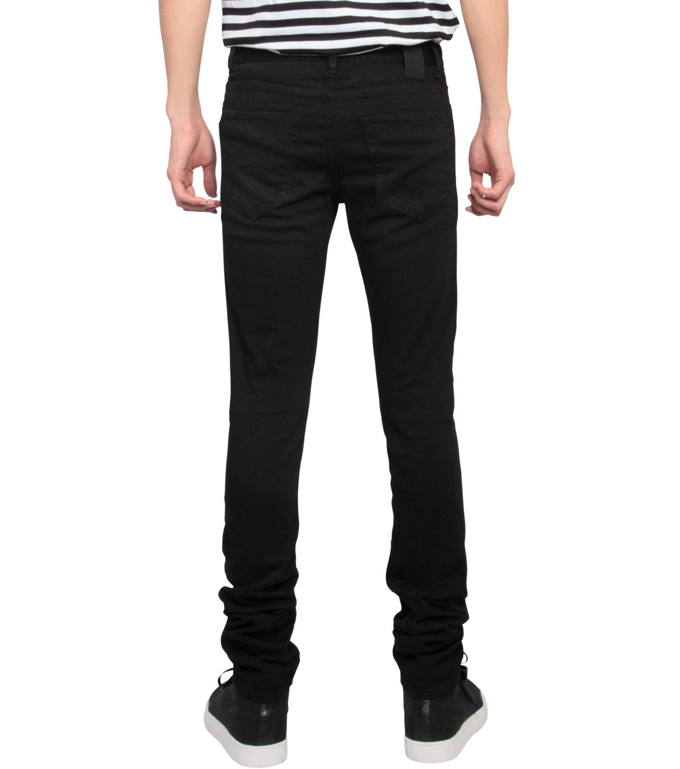 HL HEDDIE LOVU(エイチエル・エディールーヴ)のHL skinslim-BLACK(パンツ/pants)-HL-skinslim-13 拡大詳細画像2