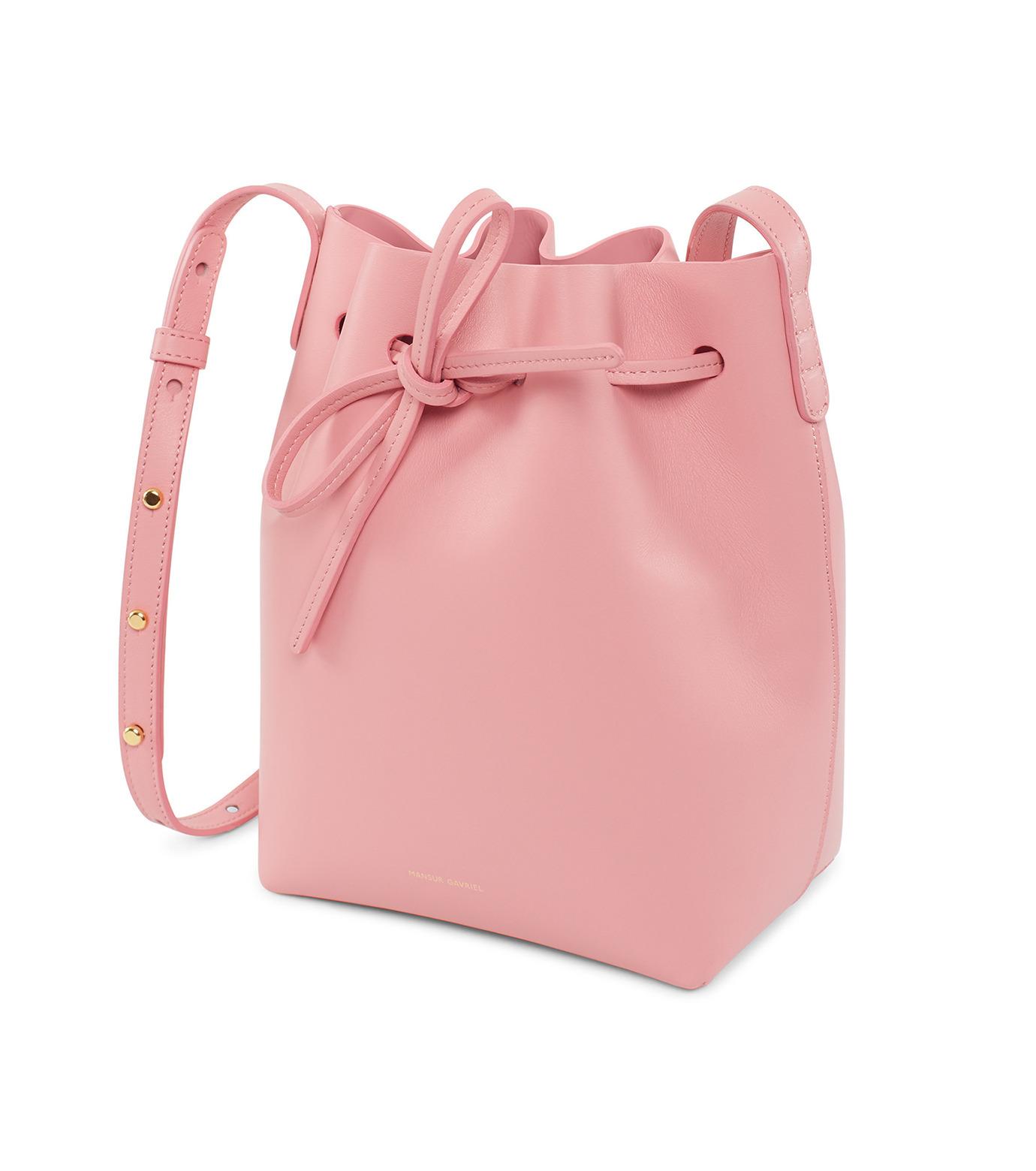 Mansur Gavriel(マンサーガブリエル)のMini Bucket Bag-PINK(バッグ/bag)-HMB004CA-72 拡大詳細画像2