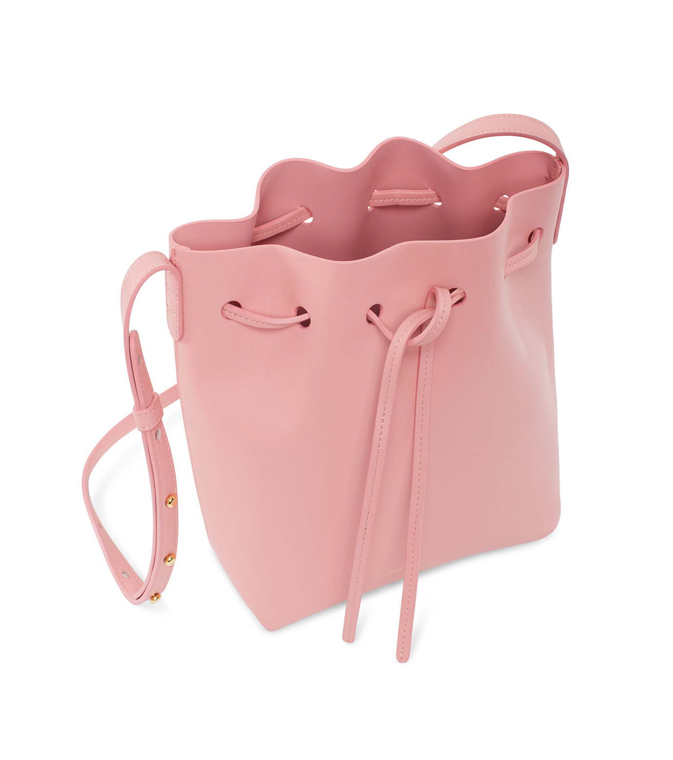 Mansur Gavriel(マンサーガブリエル)のMini Bucket Bag-PINK(バッグ/bag)-HMB004CA-72 拡大詳細画像3