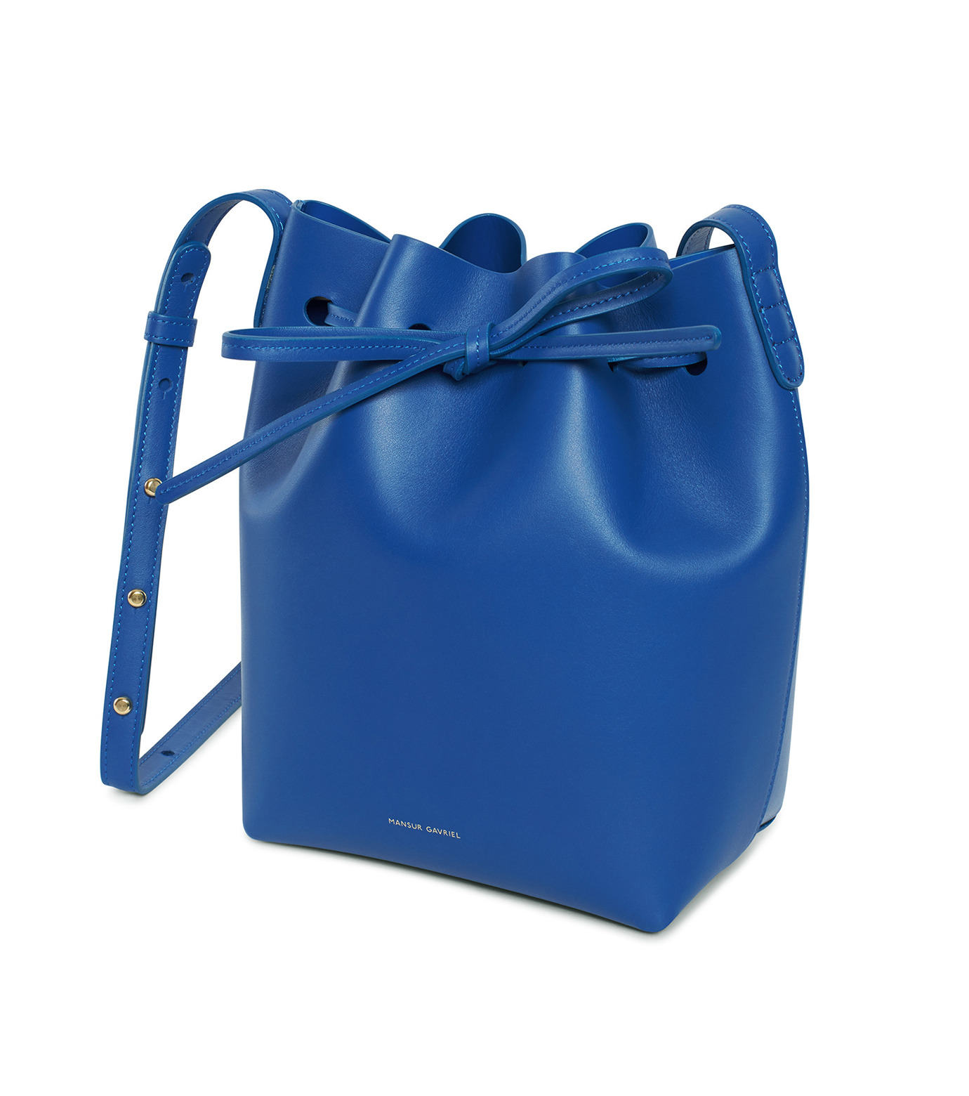 Mansur Gavriel(マンサーガブリエル)のMini Bucket Bag-BLUE(バッグ/bag)-HMB004CA-92 拡大詳細画像2