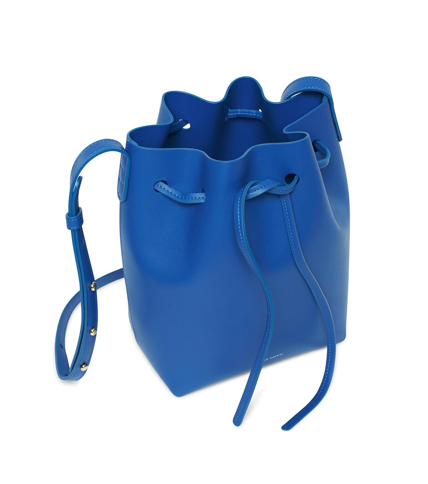 Mansur Gavriel(マンサーガブリエル)のMini Bucket Bag-BLUE(バッグ/bag)-HMB004CA-92 拡大詳細画像3