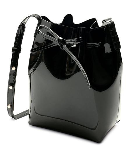 Mansur Gavriel(マンサーガブリエル)のpatent mini bucket bag-BLACK(ハンドバッグ/hand bag)-HMB004PA-13 詳細画像2