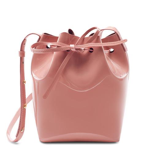 Mansur Gavriel(マンサーガブリエル)のpatent mini bucket bag-LIGHT PINK(ハンドバッグ/hand bag)-HMB004PA-71 詳細画像1