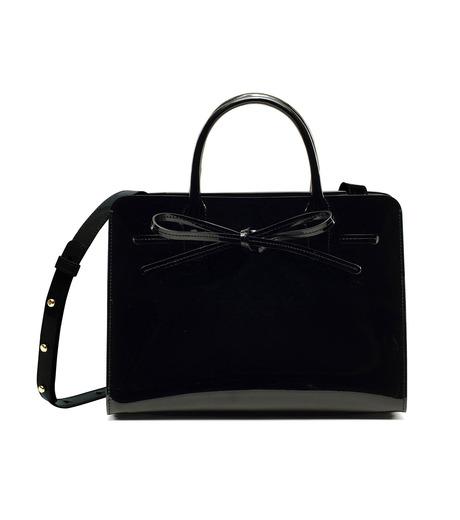 Mansur Gavriel(マンサーガブリエル)のpatent mini sun bag-BLACK(ハンドバッグ/hand bag)-HMS030PA-13 詳細画像4