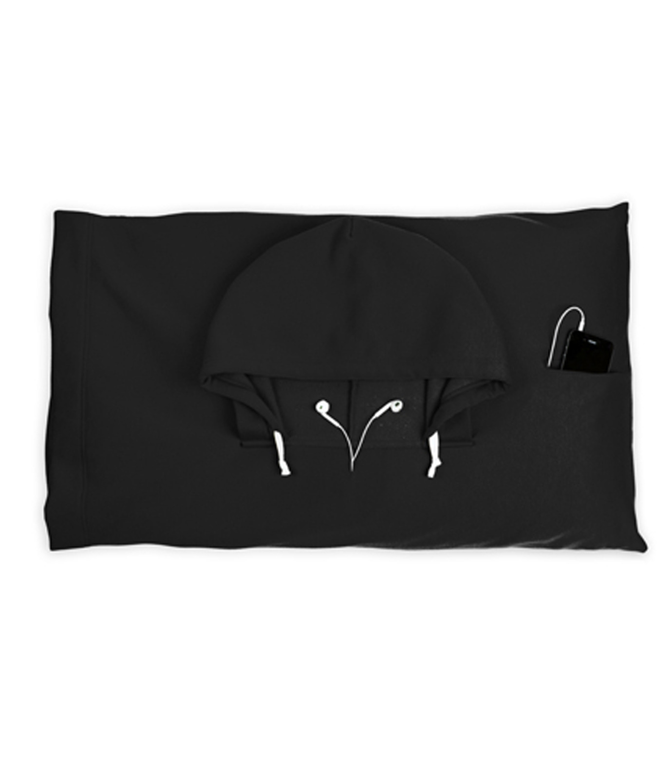 Thumbs Up(サムズアップ)のHooded Pillowcase -Black-BLACK(アザーズ/others)-HOOPILLBLK-13 拡大詳細画像1