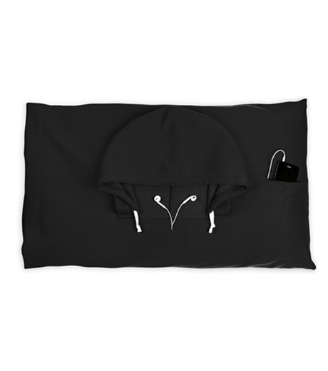 Thumbs Up(サムズアップ)のHooded Pillowcase -Black-BLACK(アザーズ/others)-HOOPILLBLK-13 詳細画像1