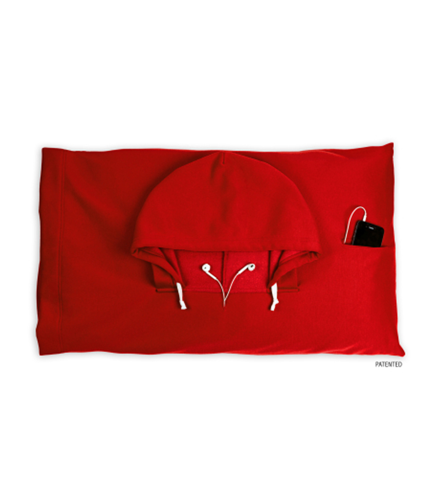 Thumbs Up(サムズアップ)のHooded Pillowcase -Red-RED(アザーズ/others)-HOOPILLRED-62 拡大詳細画像1