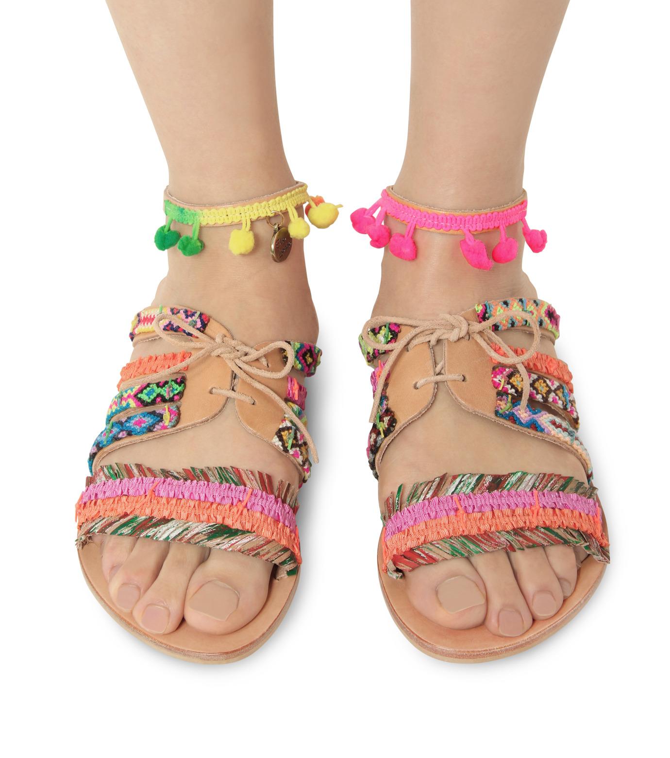 Elina Linardaki(エリナ リナーダキ)のHula Hoop-MULTI COLOUR(シューズ/shoes)-Hula-Hoop-9 拡大詳細画像2