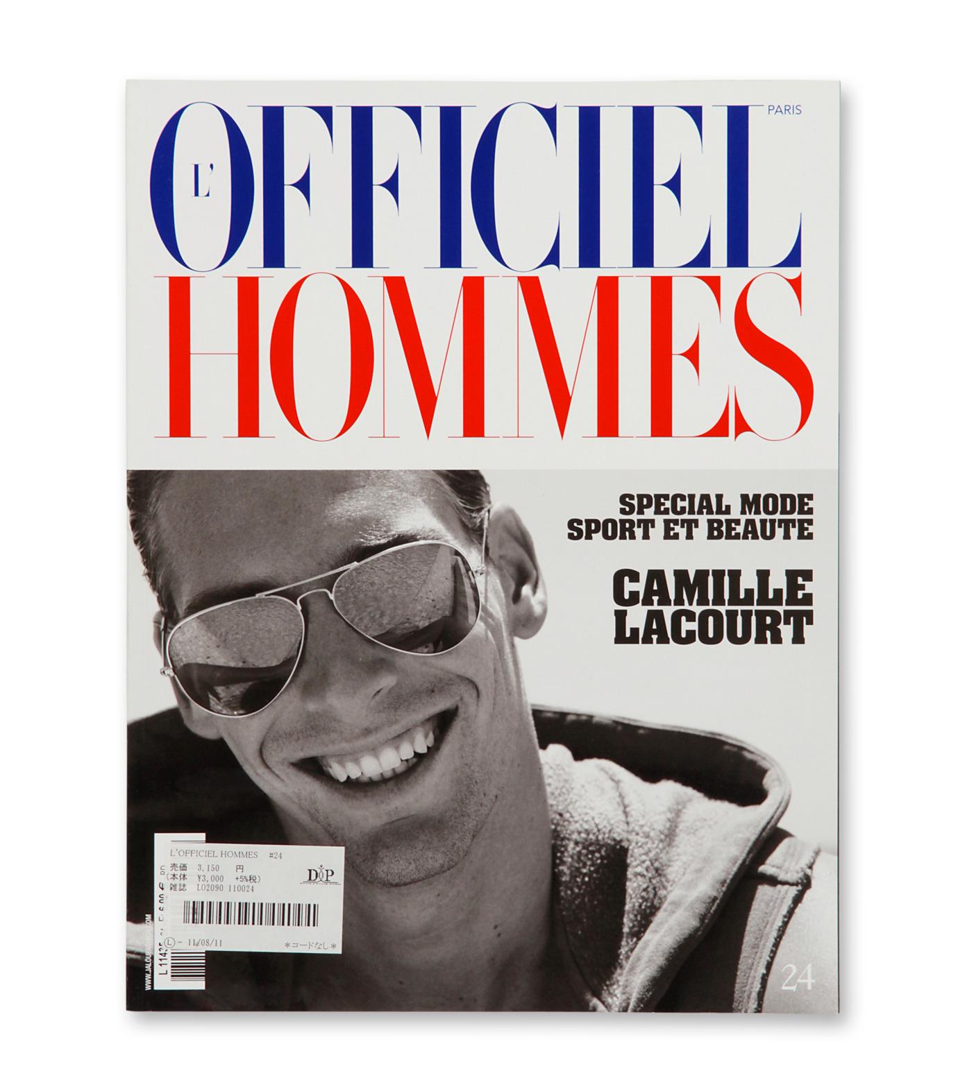 Magazine(マガジン)のL'officiel homme-NONE(インテリア/OTHER-GOODS/interior/OTHER-GOODS)-I-LO2090024-0 拡大詳細画像1