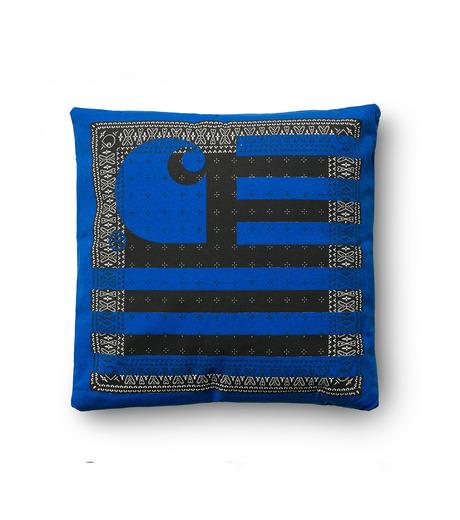 Carhartt(カーハート)のSTATE PILLOW-BLUE(インテリア/interior)-I020354-15F-92 詳細画像1