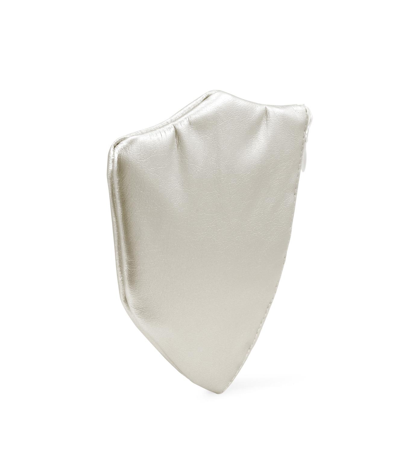 Phenomenon(フェノメノン)のLeather emblem pouch-SILVER(デジタルアクセサリー/digital accesary)-ILLBG-135-1 拡大詳細画像2