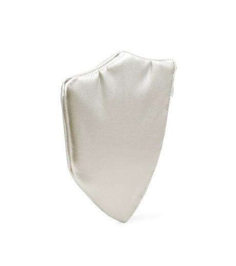 Phenomenon(フェノメノン)のLeather emblem pouch-SILVER(デジタルアクセサリー/digital accesary)-ILLBG-135-1 詳細画像2