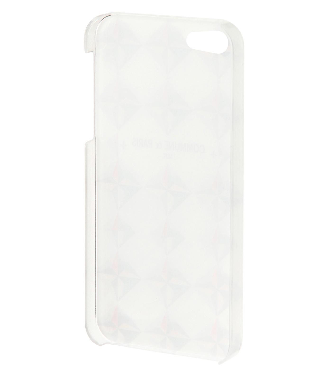 Commune de Paris(コミューン ドゥ パリ)のIphone5 case etoiles-WHITE(ケースiphone5/5s/se/case iphone5/5s/se)-IP5-CASE2-4 拡大詳細画像2