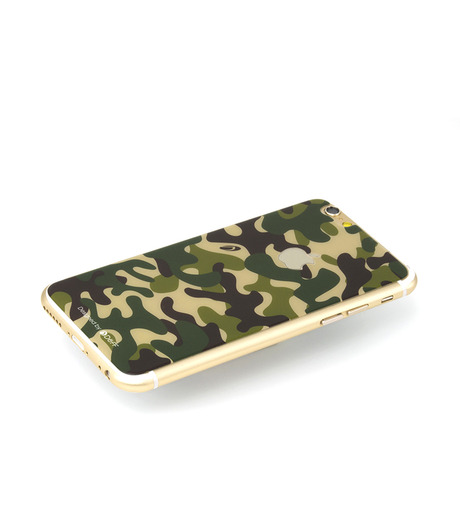 DeFF(ディーフ)のIP6 Glass Woodland-KHAKI(ケースiphone6/6s/case iphone6/6s)-IP6G3BCFGN-24 詳細画像1