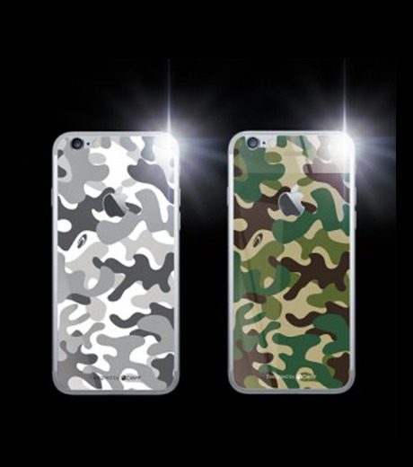 DeFF(ディーフ)のIP6 Glass Woodland-KHAKI(ケースiphone6/6s/case iphone6/6s)-IP6G3BCFGN-24 詳細画像2