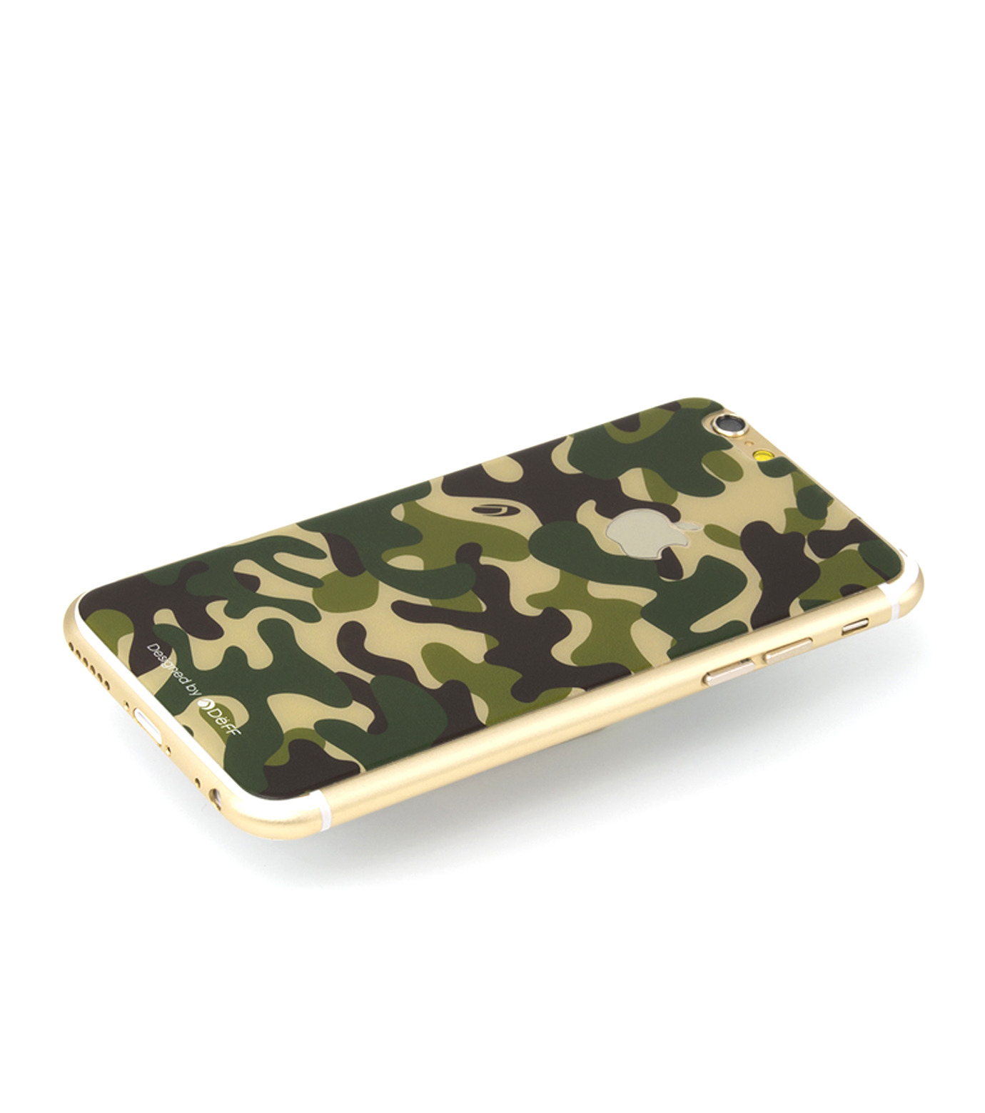 DeFF(ディーフ)のIP6+ Glass Woodland-KHAKI(ケースiphone6plus/6splus/case iphone6plus/6splus)-IP6PG3BCFGN-24 拡大詳細画像1