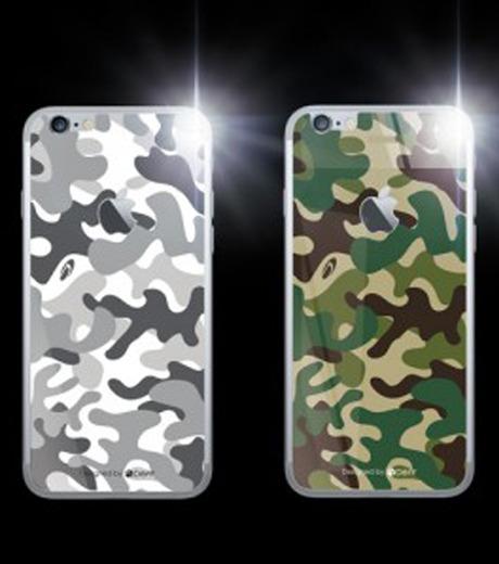 DeFF(ディーフ)のIP6+ Glass Woodland-KHAKI(ケースiphone6plus/6splus/case iphone6plus/6splus)-IP6PG3BCFGN-24 詳細画像2