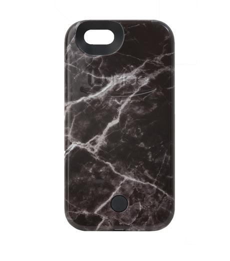 LuMee(ルーミー)のLuMee marble-BLACK-BLACK(ケース/cases)-IP6S-MAR-BLK-13 詳細画像1