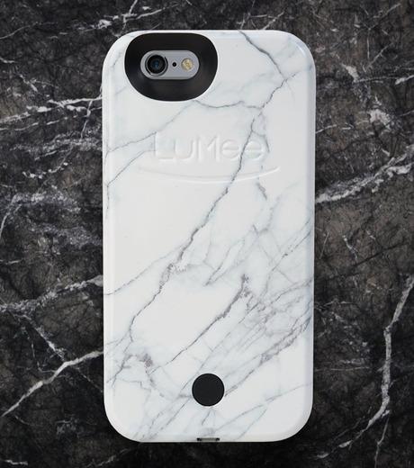 LuMee(ルーミー)のLuMee marble-WHITE-WHITE(ケース/cases)-IP6S-MAR-WHT-4 詳細画像3
