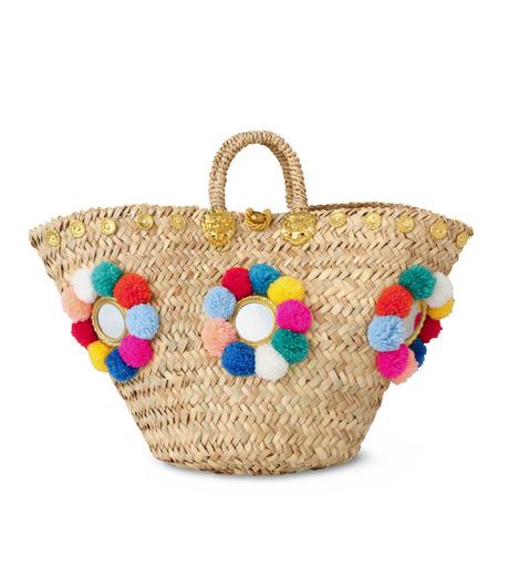 Muzungu Sisters(ムズング シスターズ)のSicilian Basket I-BEIGE(バッグ/bag)-IT001A-52 詳細画像1