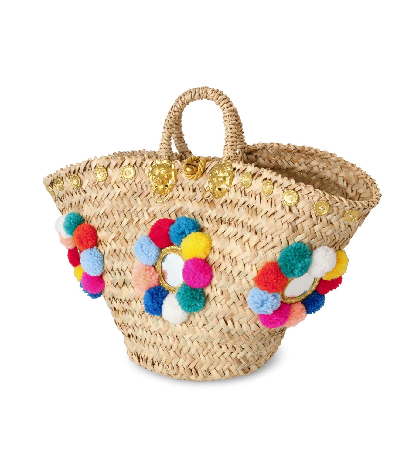Muzungu Sisters(ムズング シスターズ)のSicilian Basket I-BEIGE(バッグ/bag)-IT001A-52 拡大詳細画像2