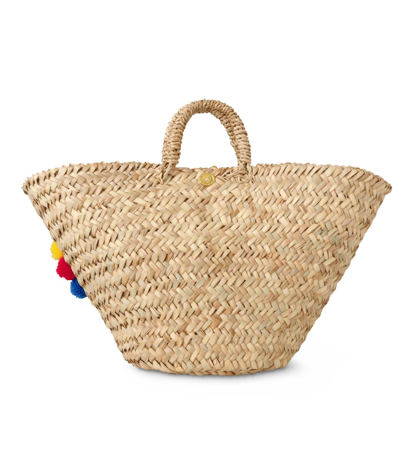 Muzungu Sisters(ムズング シスターズ)のSicilian Basket I-BEIGE(バッグ/bag)-IT001A-52 拡大詳細画像3