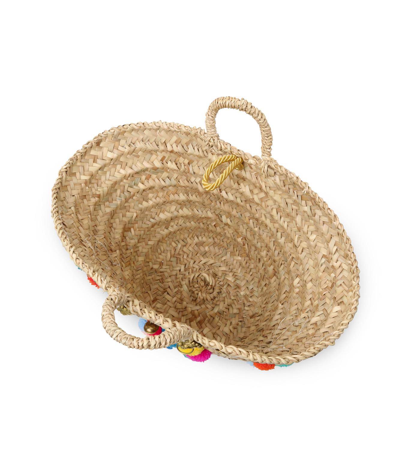 Muzungu Sisters(ムズング シスターズ)のSicilian Basket I-BEIGE(バッグ/bag)-IT001A-52 拡大詳細画像4