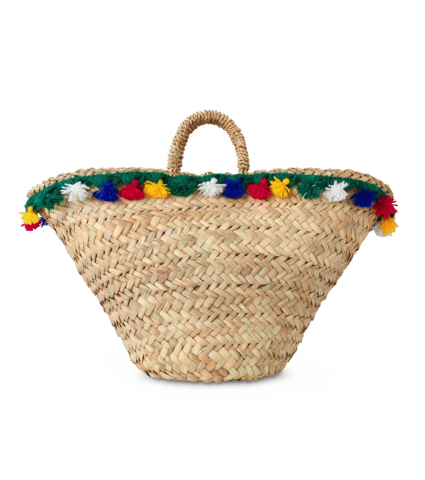 Muzungu Sisters(ムズング シスターズ)のSicilian Basket III-BEIGE(バッグ/bag)-IT001C-52 拡大詳細画像3