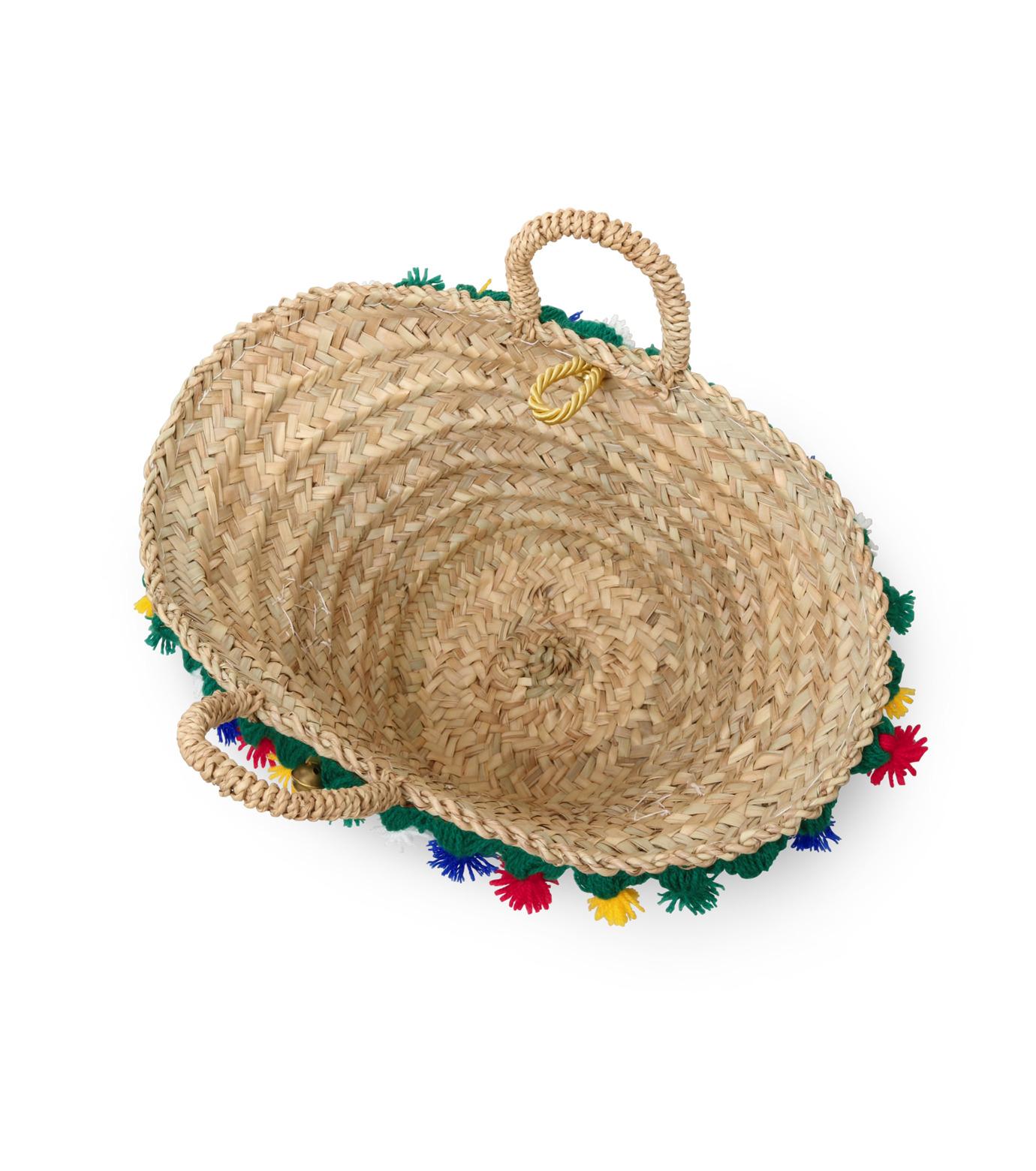 Muzungu Sisters(ムズング シスターズ)のSicilian Basket III-BEIGE(バッグ/bag)-IT001C-52 拡大詳細画像4