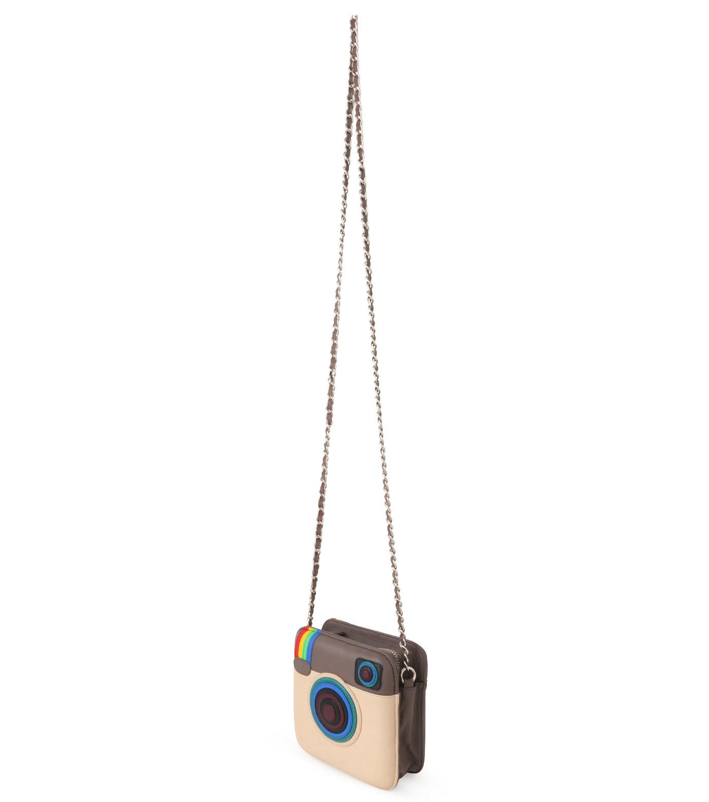 MUA MUA DOLLS()のInstagram Icon Bag-BEIGE(ショルダーバッグ/shoulder bag)-Insta-Bag-52 拡大詳細画像2