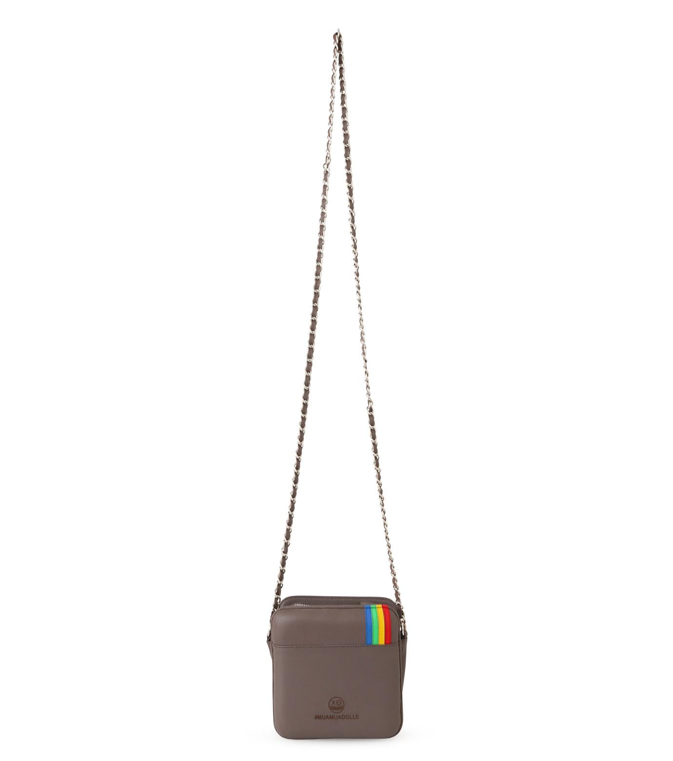 MUA MUA DOLLS()のInstagram Icon Bag-BEIGE(ショルダーバッグ/shoulder bag)-Insta-Bag-52 拡大詳細画像3