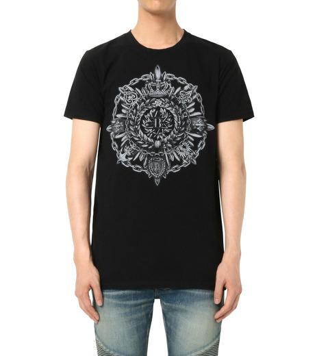 Balmain(バルマン)のB Logo T-BLACK(カットソー/cut and sewn)-J601-I006-13 詳細画像1