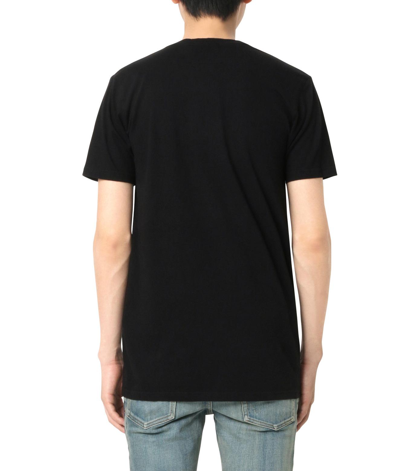 Balmain(バルマン)のB Logo T-BLACK(カットソー/cut and sewn)-J601-I006-13 拡大詳細画像2