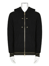 Balmain Zip Up Parka