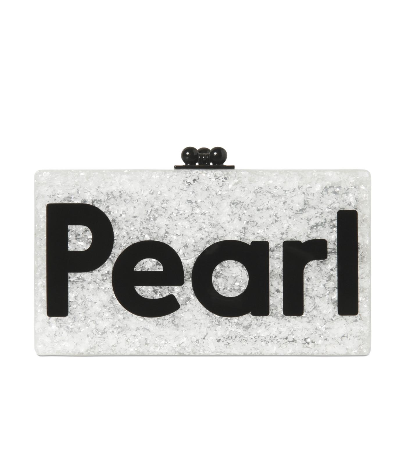 Edie Parker(エディー パーカー)のJean Pearl-WHITE-JE0049-4 拡大詳細画像1