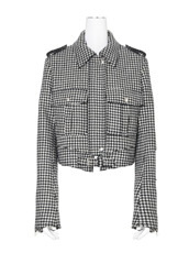 J.W.Anderson Houndstooth Jacket w/Pkts