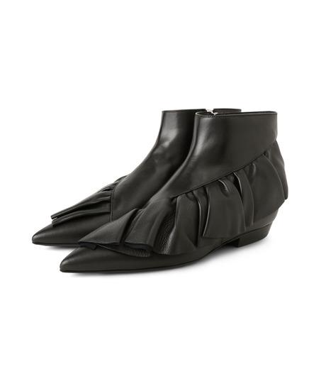 J.W.Anderson(ジェイダブリュー アンダーソン)のRuffle Bootie-BLACK(ブーツ/boots)-JWAFW01C-13 詳細画像3