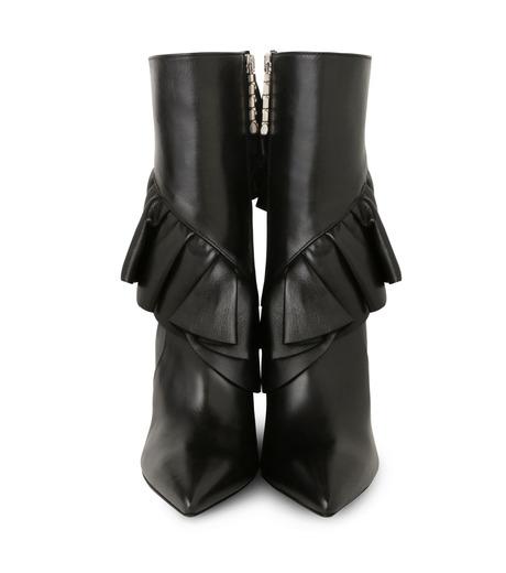 J.W.Anderson(ジェイダブリュー アンダーソン)のMid Calf Ruffle Boot-BLACK(ブーツ/boots)-JWAFW03C-13 詳細画像4