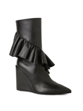J.W.Anderson Mid Calf Ruffle Boot