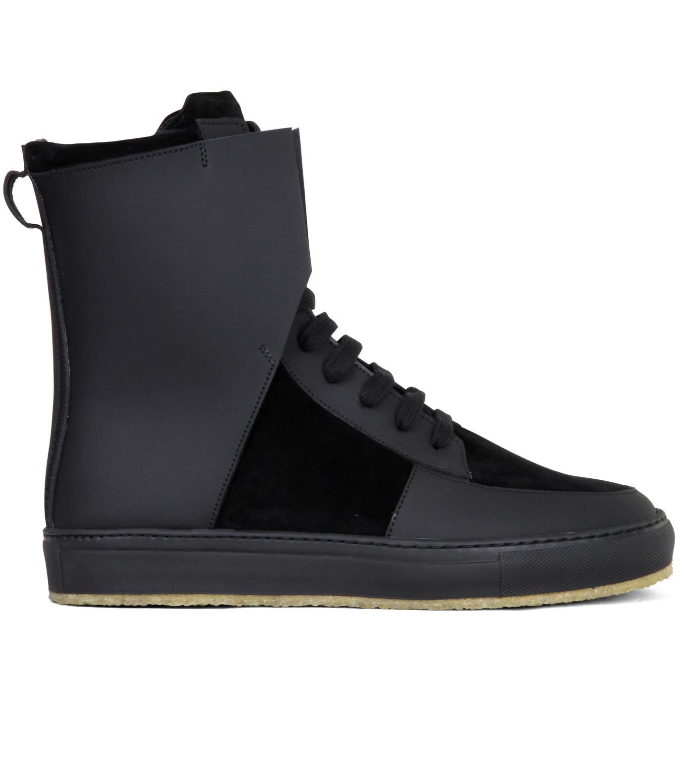 Kris Van Assche(クリスヴァンアッシュ)のLibra Black Sneaker-BLACK-K2709 拡大詳細画像1