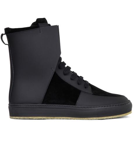 Kris Van Assche(クリスヴァンアッシュ)のLibra Black Sneaker-BLACK-K2709 詳細画像1