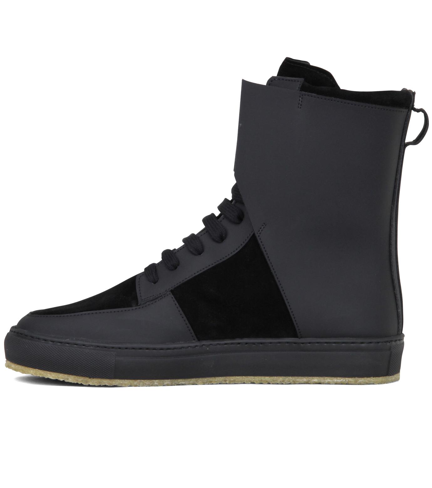 Kris Van Assche(クリスヴァンアッシュ)のLibra Black Sneaker-BLACK-K2709 拡大詳細画像2
